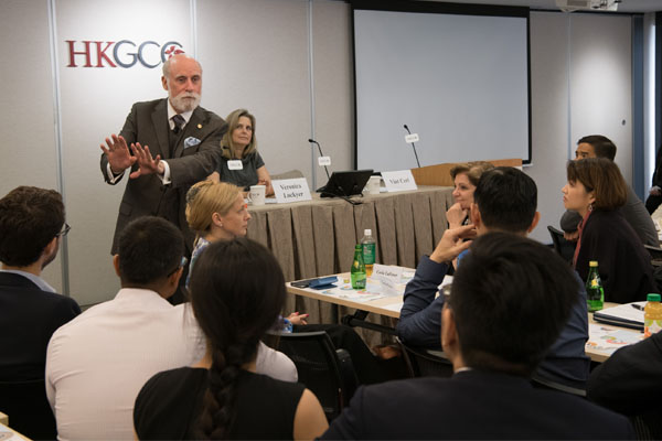 Vint Cerf shares his perspectives on the Internet of Things