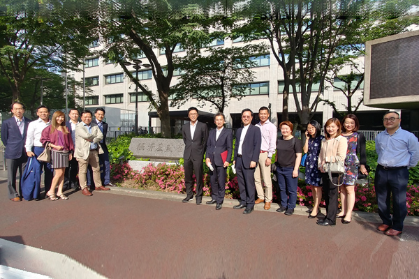 YEC Executive Committee Field Trip to Tokyo on 16-19 May