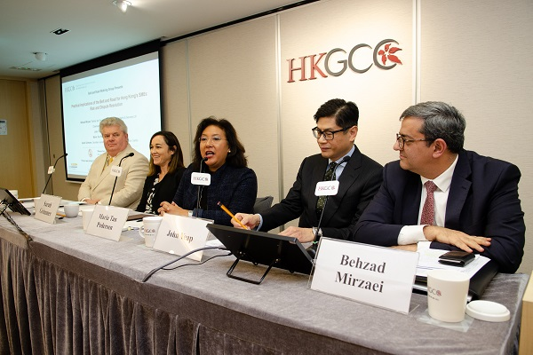 Practical implications of the Belt and Road for SMEs at HKGCC