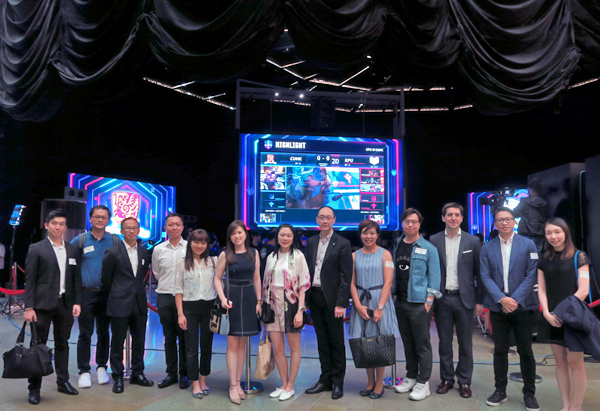 YEC Exclusive Guided Tour of e-Sports Venue at Cyberport