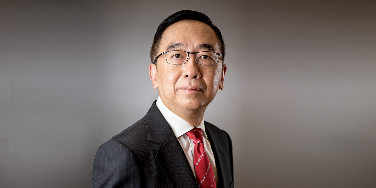 Meet the Chamber's New CEO George Leung<br/>總商會新總裁履新 梁兆基