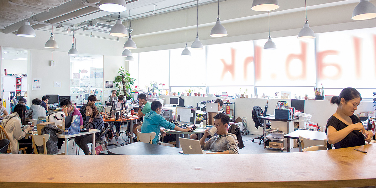 Changing Times for Co-working Spaces<br/>共享工作空間的變革時代